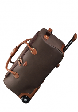 Jump Uppsala Wheeled Duffle 55cm Carry On in the colour Chocolate