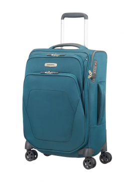 Samsonite Spark SNG Spinner 55cm in the colour Petrol Blue