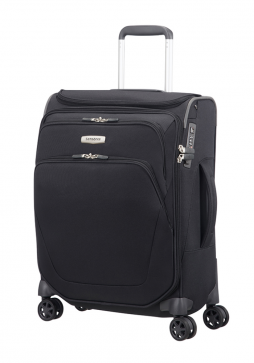 Samsonite Spark SNG Spinner With Top Pocket 55cm in the colour Black