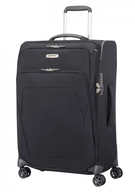 Samsonite Spark SNG Expandable Spinner Suitcase 67cm in the colour Black