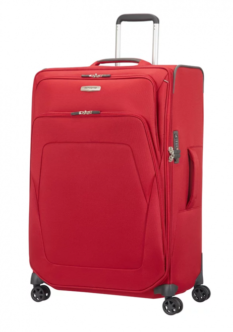 Samsonite Spark SNG Expandable Spinner Suitcase 72cm in the colour Red