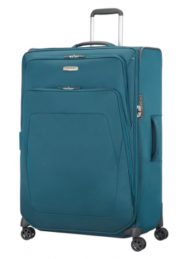 Samsonite Spark SNG Expandable Spinner Suitcase 82cm in the colour Petrol Blue