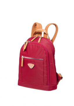 Jump Cassis Riviera Small Backpack in the colour Red