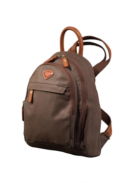 Jump Uppsala Small Backpack 4417 in the colour Chocolate