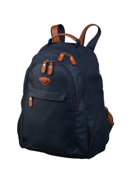 Jump Uppsala Tear Drop Lap Top Backpack 4433 in the colour Navy