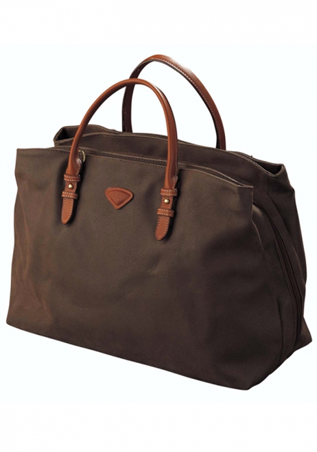 Jump Uppsala 3 Compartment Duffle Bag 4439 in the colour Chocolate