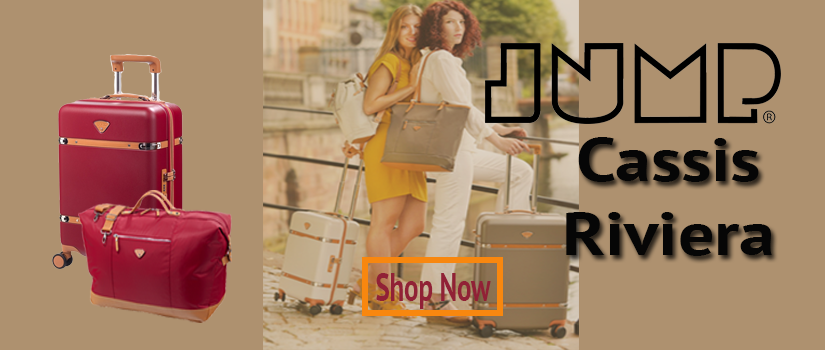 Jump Luggage Cassis Riviera Banner