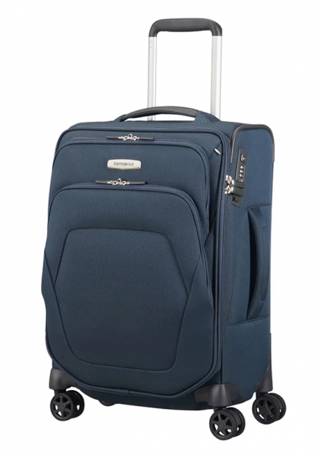 Samsonite Spark SNG 55x35x20cm Spinner Suitcase in the colour blue