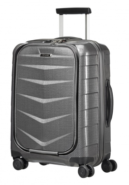 Samsonite Lite-BIZ 55cm Spinner Suitcase in Eclipse Grey
