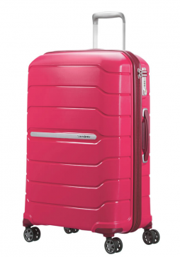 68cm Granita Red Samsonite Flux Spinner Suitcase