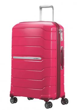 68cm Granita Red Samsonite Flux Spinner Suitcase